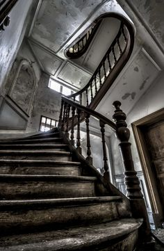 Abandoned mansion, Chateau Milou, Belgium.