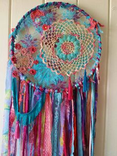 Hey, I found this really awesome Etsy listing at https://www.etsy.com/listing/397873251/boho-dreamcatcher-textile-wall-art