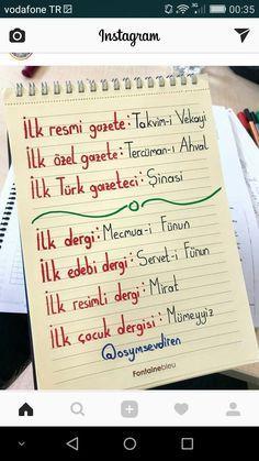 Edebiyat - #Edebiyat Study Hard, Nail Tutorials, Science And Nature, Literature, Language, Bullet Journal, Notes, Education, Math