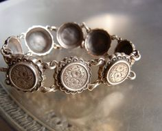 Antique Victorian Aesthetic Movement Sterling by OldJewelsILove