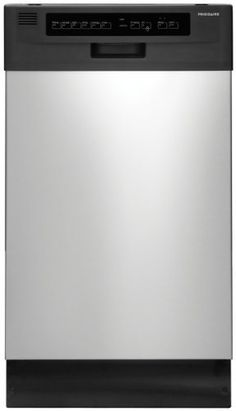 """Frigidaire FFBD1821MS 18"""" Built-In Dishwasher with Stainless Steel Interior and Delay Start, Stainless Steel by Frigidaire, http://www.amazon.com/dp/B005F5I69C/ref=cm_sw_r_pi_dp_MkNvtb00EJVZ5"""