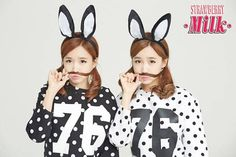 Crayon Pop 1st subunit Strawberry Milk, featuring twins Way & ChoA, to debut in October | allkpop