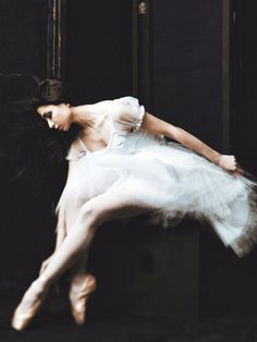 """""""When other little girls wanted to be ballet dancers I kind of wanted to be a vampire.For lack of knowing how to vamp, I did become a ballerina. Shall We Dance, Just Dance, Ballet Photography, Fashion Photography, Tutu, La Bayadere, Dance Like No One Is Watching, Tiny Dancer, Ballet Beautiful"""