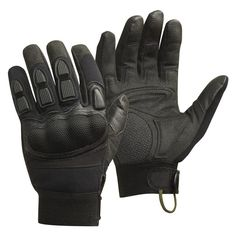 Designed for close quarter battle and military operations on urban terrain, the CamelBak Magnum Force Gloves protect your hands without hindering dexterity. Featuring Kevlar-reinforced hard knuckle protection and an abrasion-resistant palm pad, these gloves resist impact and vibration without being stiff. The index finger is padded with EVA foam to protect your trigger finger while keeping it mobile. The palm is made with breathable Clarino synthetic leather to enhance grip, ideal for…