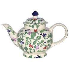 Sweet Pea 4 Cup Teapot 2012 at Emma Bridgewater