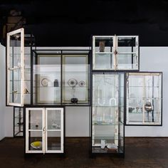 Old Windows Cabinet, 7 Compartments. The Future Perfect.