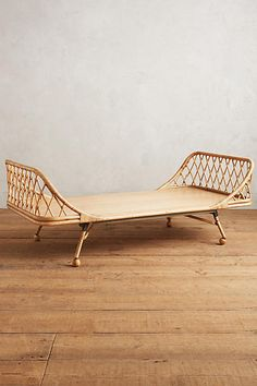 Seating - Formed from naturally durable rattan reeds, this natural curving daybed nods to British colonial furniture, providing a sturdy addition to your living space . Bamboo Furniture, Unique Furniture, Furniture Making, Furniture Decor, Living Room Furniture, Furniture Design, Outdoor Furniture, Furniture Buyers, Furniture Removal