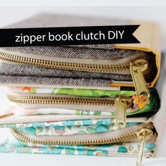http://seekatesew.com/buy-diy-zipper-book-clutch-tutorial-gift-kits/