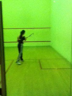 Shanghai Squash court august 2011