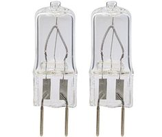 #2pack - #WB25X10019 20W Halogen Lamp Bulb 20W replacement for GE Microwave