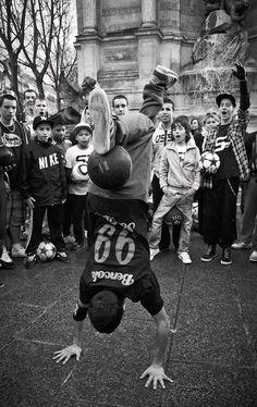 Baile y fútbol en Paris