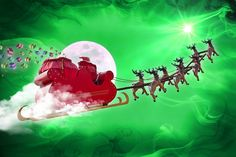 In a blitzkrieg Christmas Eve mission, Santa Klaus and his squadrons of hooved helpers pounded ISIS positions with atomic reindeer feces, slaying thousands
