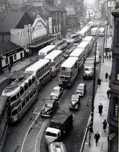 As part of our weekly nostalgia focus today we bring you images from Glasgow Traffic Jams Scotland Uk, Glasgow Scotland, England And Scotland, Paisley Scotland, Scotland Travel, Glasgow Subway, National Theatre Of Scotland, Island Of Skye, Glasgow City Centre
