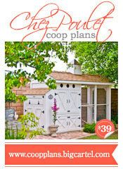 This gorgeous coop has been all over Pinterest already, but now there are PLANS AVAILABLE!