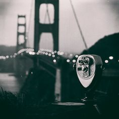 San Francisco Photography - Black and White Golden Gate Bridge Print, California, Travel, Vacation, U.S. Landmark, Morning, Dreamy