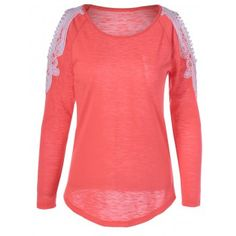 SHARE & Get it FREE   Sweet Long Sleeve Hit Color T-ShirtFor Fashion Lovers only:80,000+ Items·FREE SHIPPING Join Dresslily: Get YOUR $50 NOW!