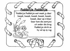 Preschool Poems, Kids Poems, Children Songs, Afrikaans Language, School Songs, Spanish Lessons, Animal Quotes, Wedding Humor, Foreign Languages