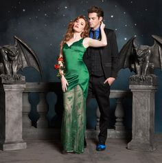 DC Formal Collection. NEED! // DC Comics Poison Ivy Formal Dress