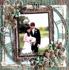 Heartfelt Creations | Gears Wedding Layout