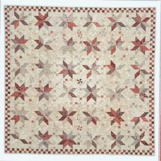 French Vintage quilt pattern