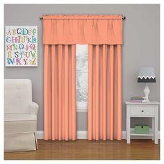 "Microfiber Blackout Curtain Orange (42""x84"") - Eclipse My Scene"