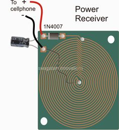 In this post we learn how to make a simple wireless cellphone charger circuit using the concept of wireless power transfer