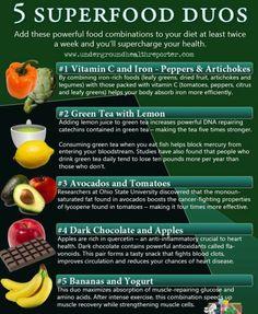 super foods combinations #healthyeating
