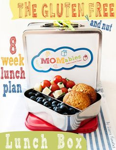 MOMables New Gluten & Nut FREE Menu Plans!  School Lunches Made Fast, Fresh, & Easy!!