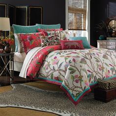 Collier Campbell Leopard Trail 3-piece Comforter Set - Free Shipping Today - Overstock.com - 16785188 - Mobile