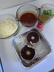 STUFFED PORTABELLA PIZZAS   OAMC FROM ONCE A MONTH MOM