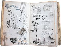 """Oret-oretan .. Doodles."" by inesindrati on Polyvore"