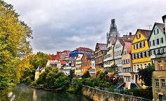 Tubingen, Germany, close to where I lived