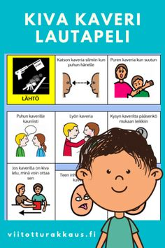 Millaista on ystävyys? 8 Year Olds, Social Skills, Special Education, Classroom, Teaching, Comics, School, Kids, Games