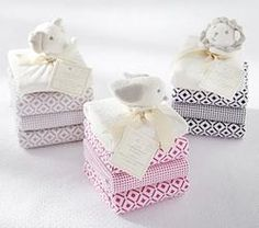 Flannel Swaddle Thumbie Set