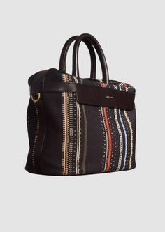 Paul Smith Sac Fourre-tout, Multicolore, Cuir, 2017, Taille
