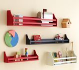 Would love to get more organized with these shelves from Pottery Barn Kids.