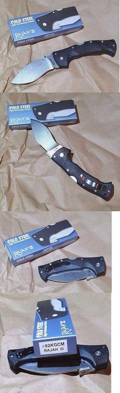 Folding Blade 42577: New Cold Steel Rajah Iii Plain Edge Folding Knife 3.5In Blade 62Kgcm -> BUY IT NOW ONLY: $59.62 on eBay!