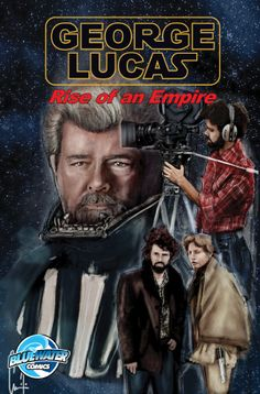 Bluewater Productions is proud to announce the release of a comic book featuring the life of filmmaker and geek icon George Lucas.