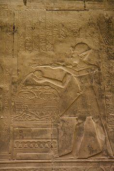 Templo de Sethi I . Abydos RaHorakhty's chapel.