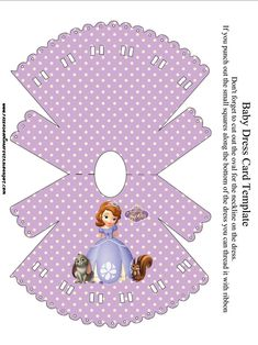 Princess Sofia the First Party Invitations, Free Printables. | Oh My Fiesta! in english