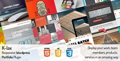 Klax - Responsive HTML/jQuerry Plugin, Display your Work, Team, Products, Services, Portfolio