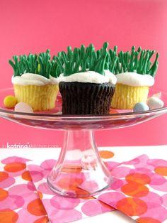 Easter Egg Hunt Cupcakes Tutorial