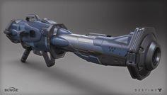ArtStation - Destiny - Exotic Rocket Launcher, Mark Van Haitsma
