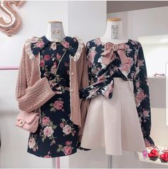 Korean Fashion Trends, Kpop Fashion, Cute Fashion, Asian Fashion, Girl Fashion, Vintage Fashion, Fashion Design, Girl Outfits, Casual Outfits