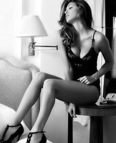 Black lace #lingerie