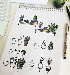 You know how I love plant doodles so much I can't stop myself not to draw one on my journal. But, hey, plant doodles can really adapt to… doodle Bullet Journal Notes, Bullet Journal Aesthetic, Bullet Journal 2019, Bullet Journal Ideas Pages, My Journal, Bullet Journal Inspiration, Pens For Bullet Journaling, Bujo Inspiration, Doodle Inspiration