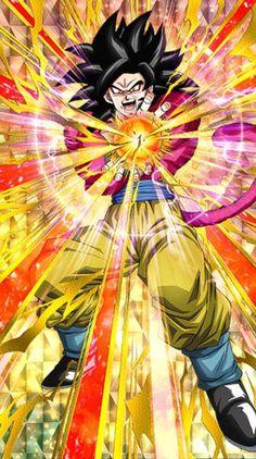 [Ultimate Super Saiyan] Super Saiyan 4 Goku Dragon Ball Z: Dokkan Battle Dragon Ball Gt, Otaku Anime, Anime Echii, Super Saiyan 4 Goku, Dragonball Super, Goku Super, Gogeta Ss4, 1440x2560 Wallpaper, Dbz Characters