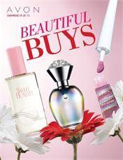 Beautiful Buys Avon Campaign 19 - view the online brochure at http://eseagren.avonrepresentative.com/blog/index.html?blog_postid=1302443