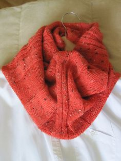 Free Pattern: Mira's Cowl by Mira Cole. Follow 'About this Pattern' on right to link to pattern.
