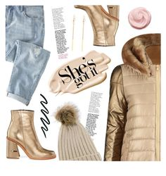 """So Cozy: Winter Boots"" by meyli-meyli ❤ liked on Polyvore featuring Wrap, Stila, TIBI and winterboots"